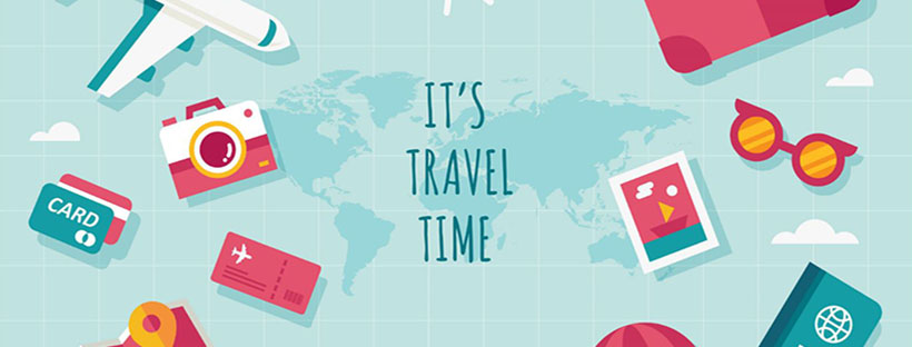 it's travel time