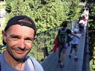 La traversée du Capilano bridge