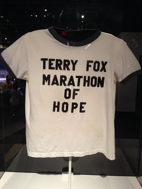 Le maillot de Terry Fox : Marathon of Hope