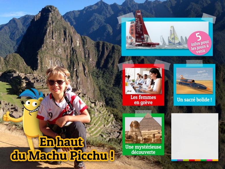 Couv Saïk Machu Picchu